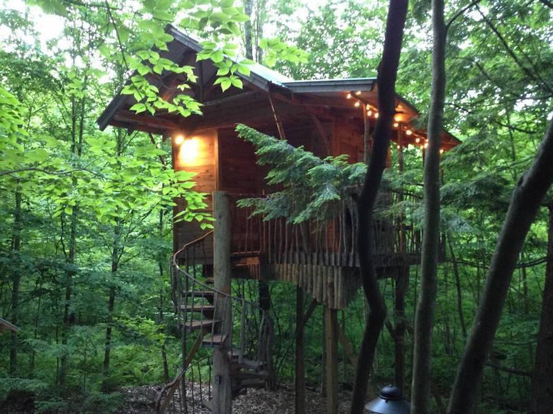 An Adirondack Tree House Retreat