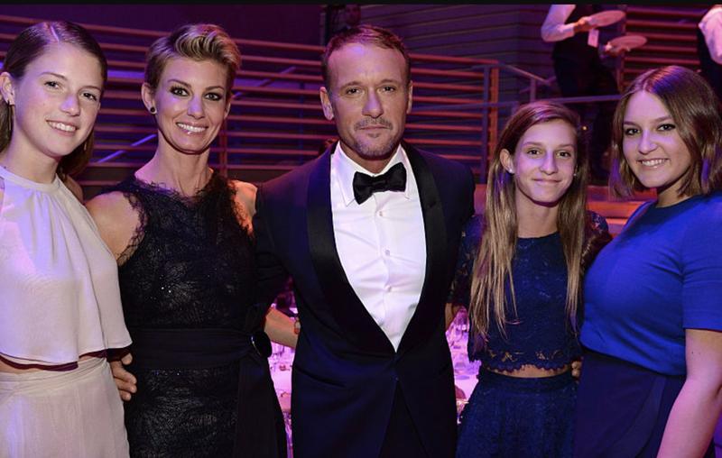 Tim McGraw's Family