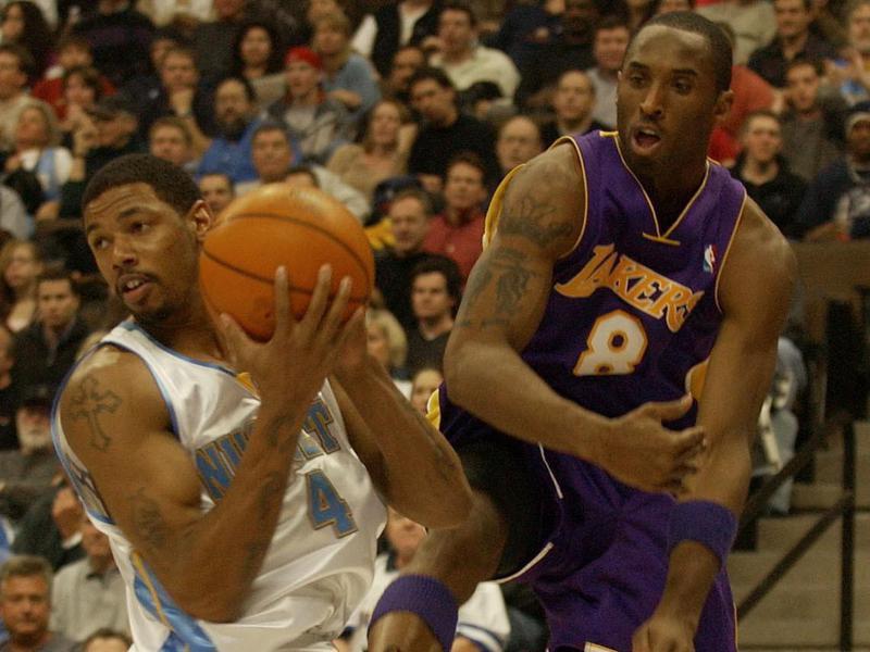 Jeff Trepagnier and Kobe Bryant