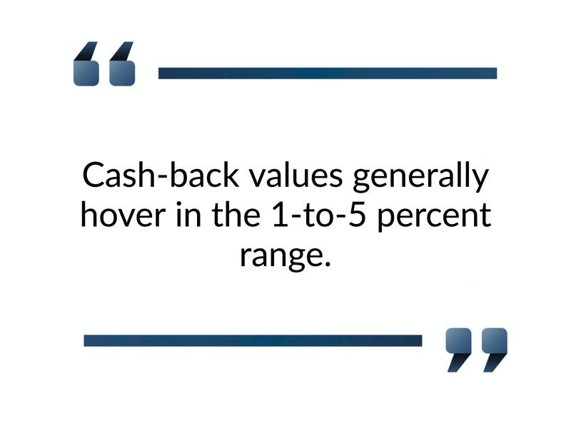 cash back five years