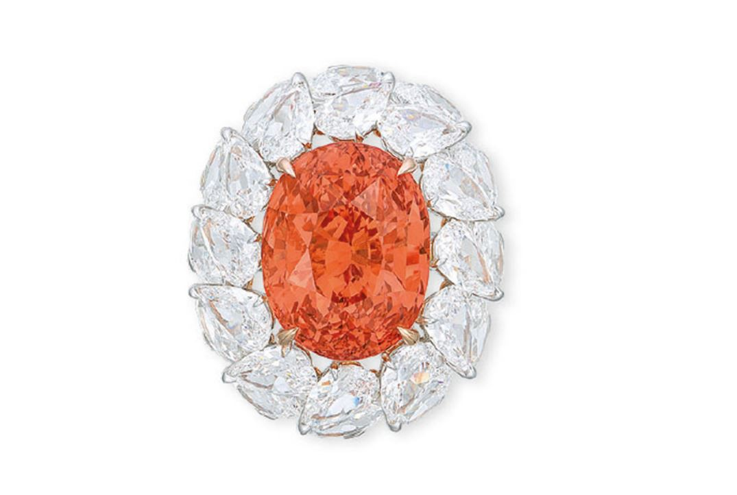Most expensive padparadscha