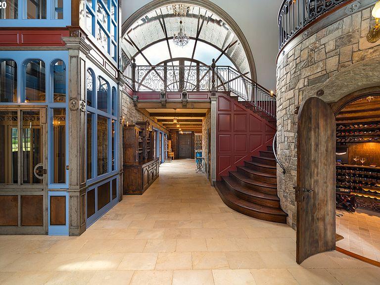 Inside Hogwarts house in West Linn, Oregon