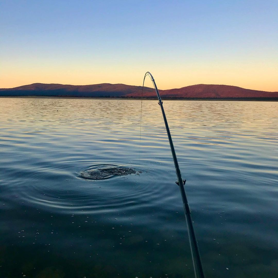 Eagle Lake fishing