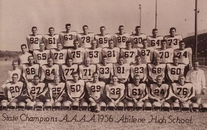 1956 Abilene High School football team