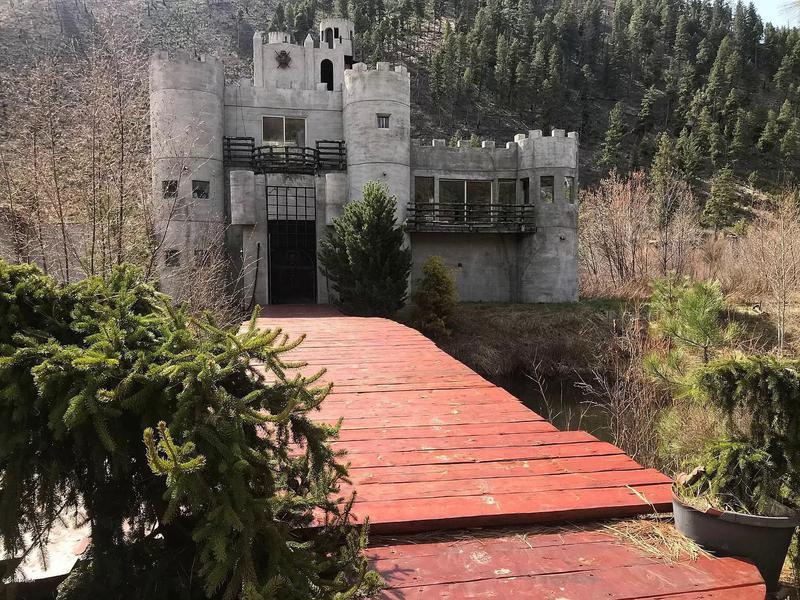 Front of Miller's Castle in Montana