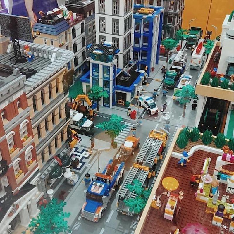 Lego Lotte World Mall in South Korea