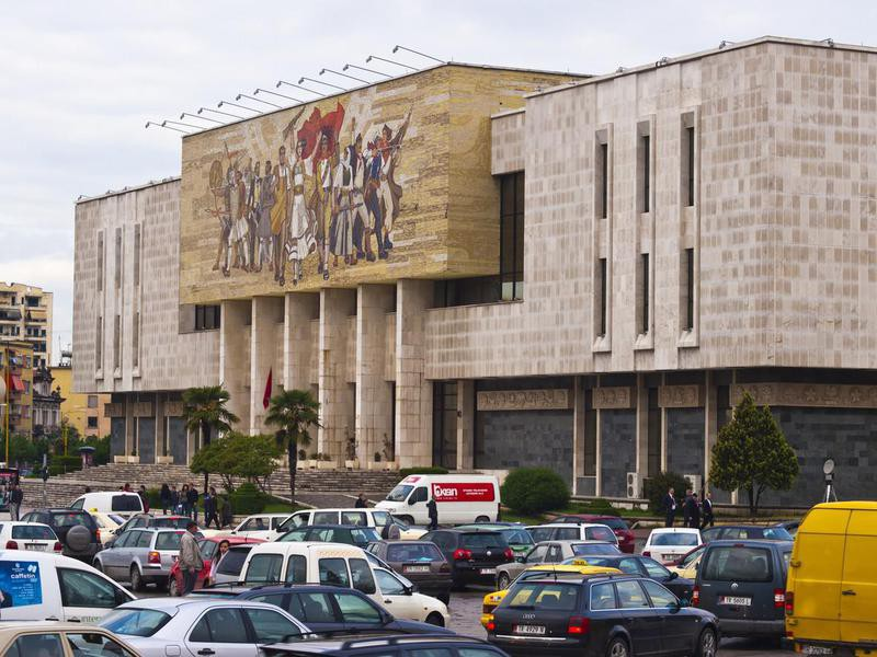 National History Museum in Albania