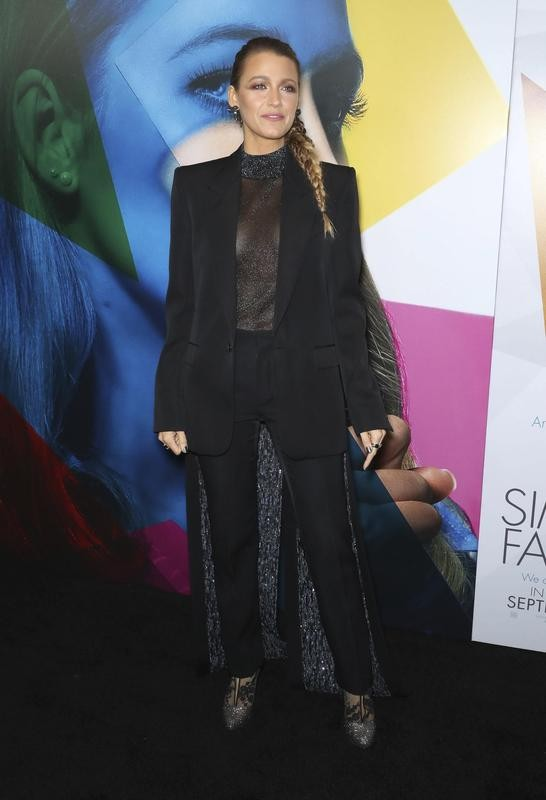 """Blake Lively style at premiere of """"A Simple Favor"""" at the MOMA"""