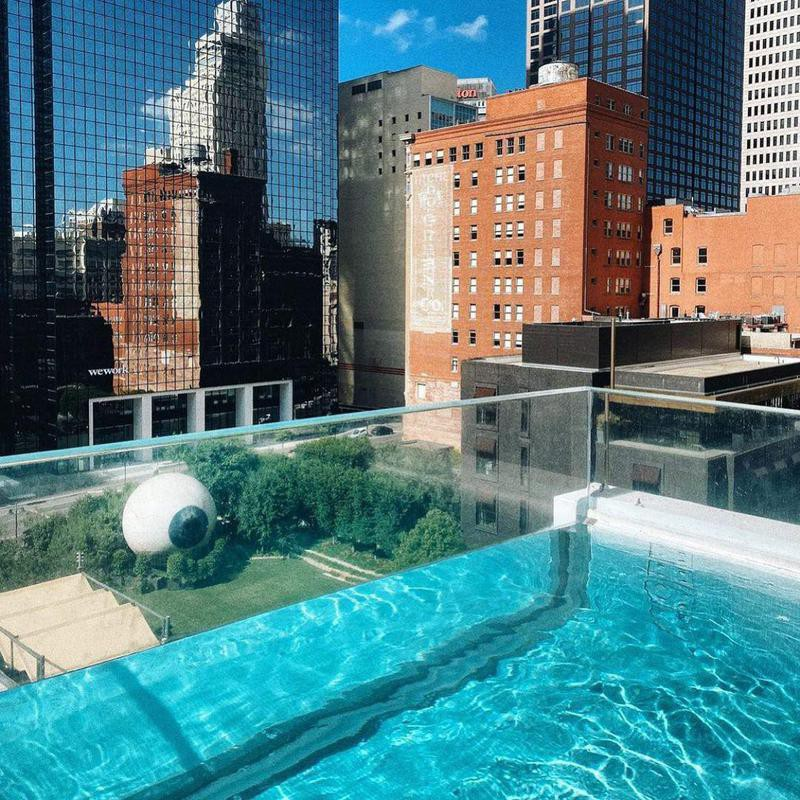 Pool at The Joule