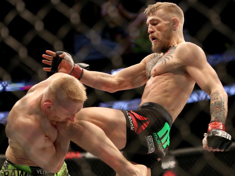 Conor McGregor vs. Dennis Siver