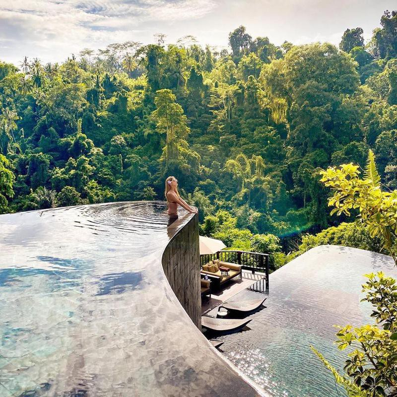 Above the Trees in Bali