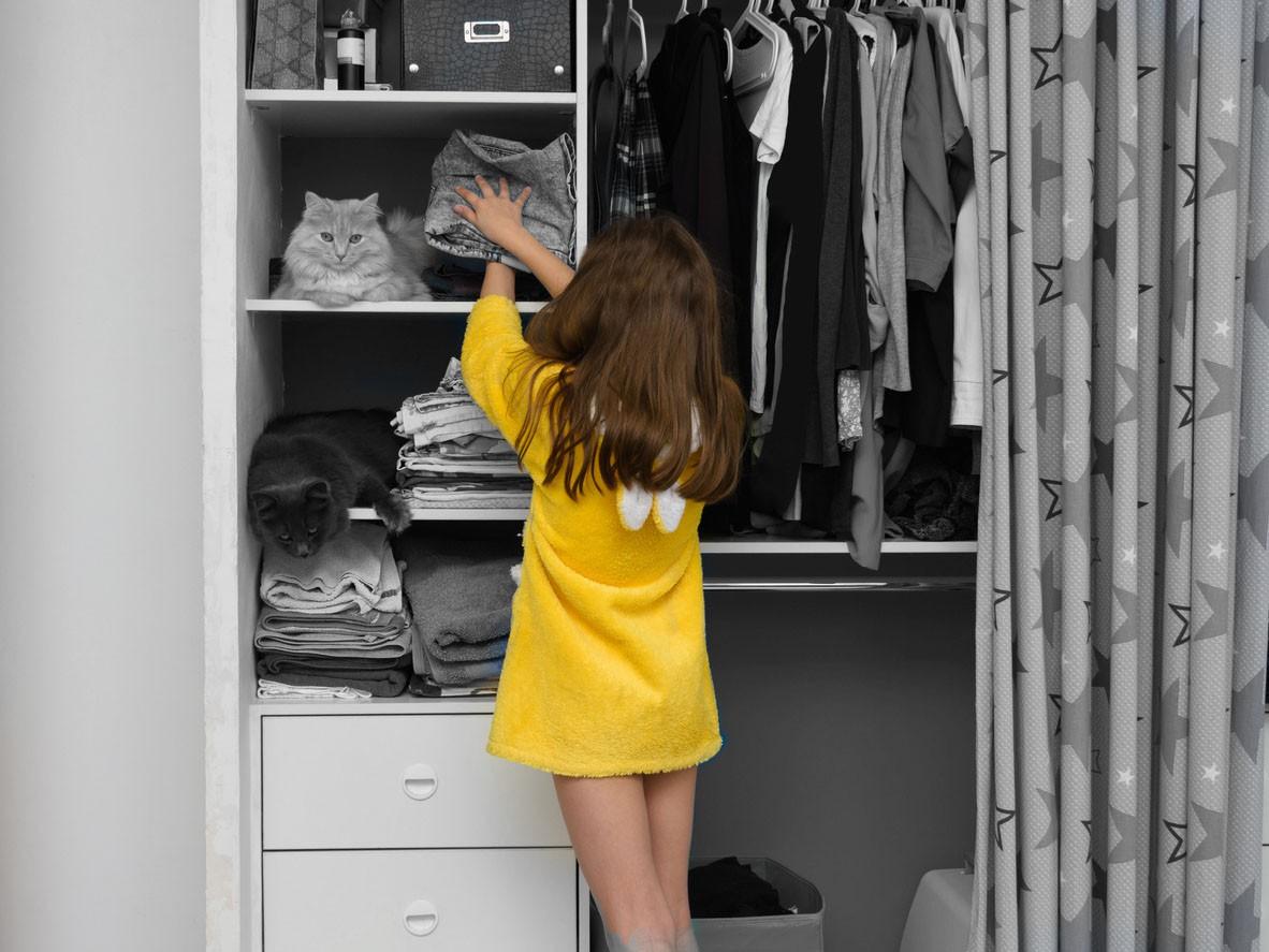 Straighten Their Closet