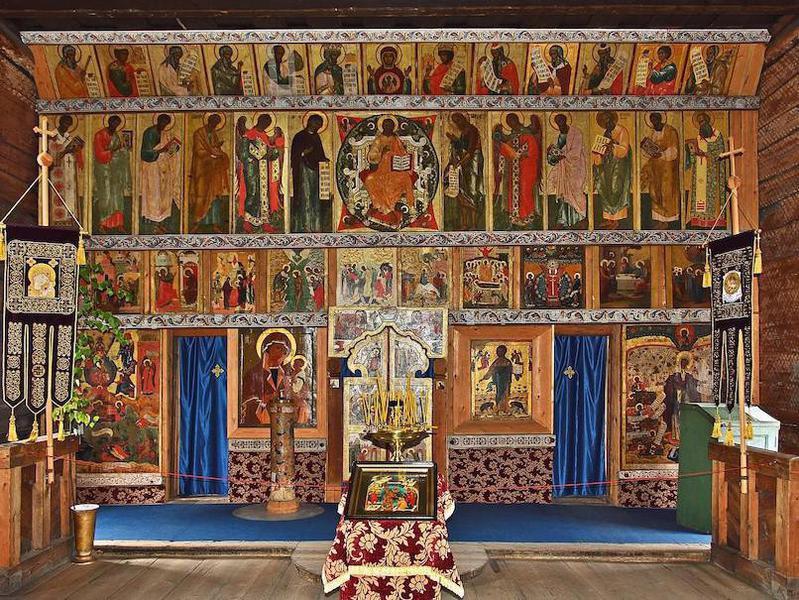 Church of the Transfiguration interior