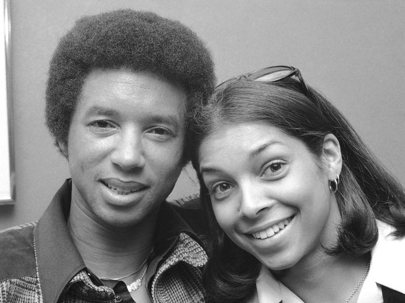 Arthur Ashe and Jeanne Marie Moutoussamy