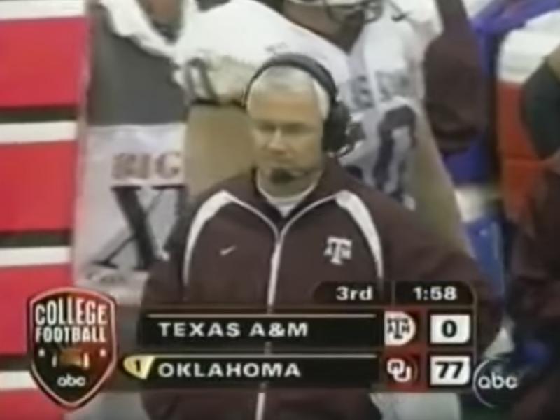 Texas A&M vs. Oklahoma