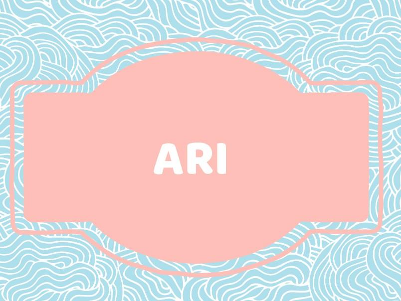 Unique Baby Boy Names: Ari