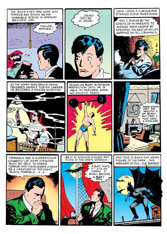 Batman's origin story