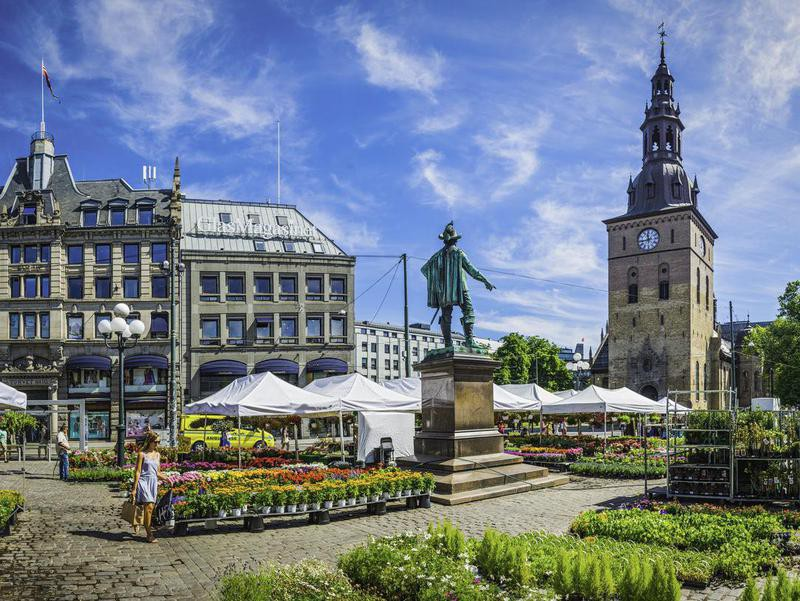 Oslo downtown, Norway