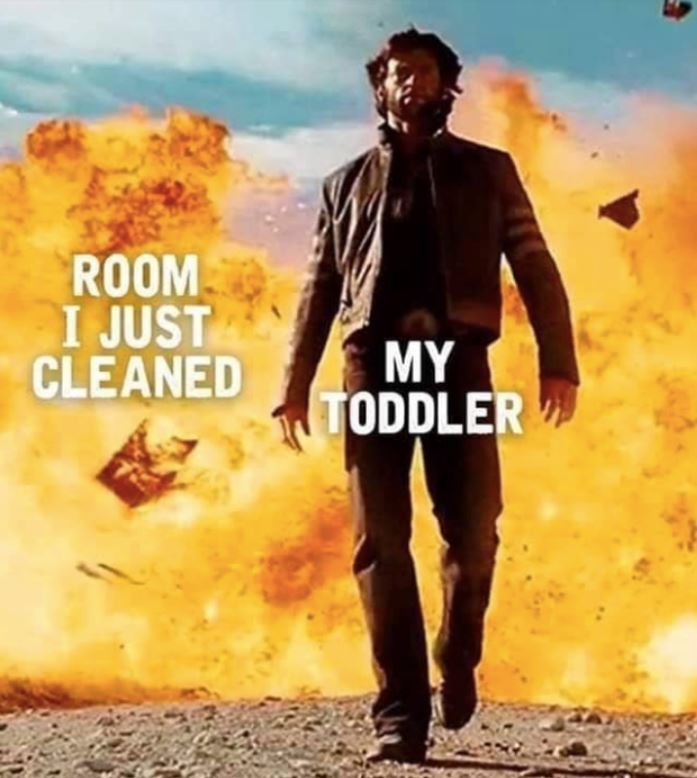 Room cleanup meme