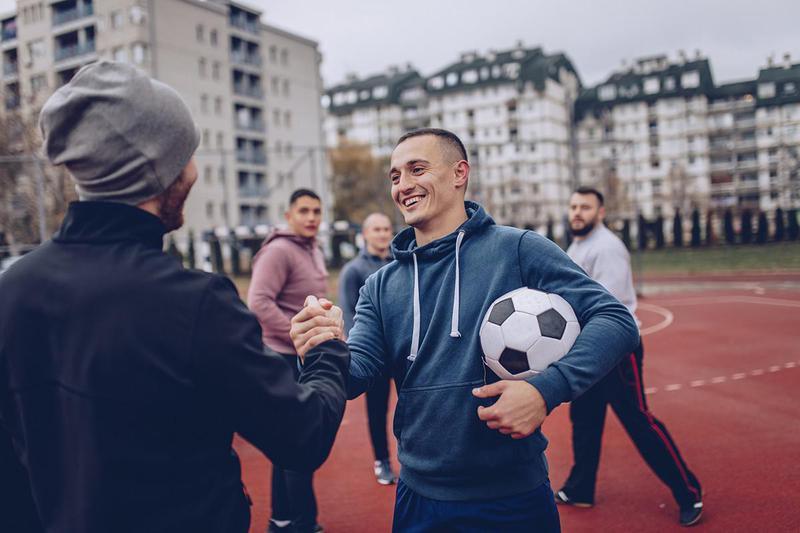 Fair Play Before a Soccer Game