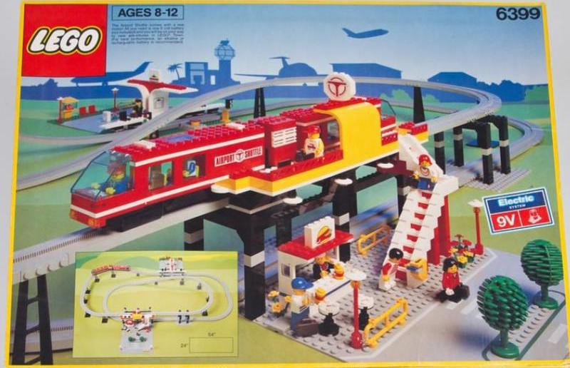 Airport Shuttle Lego