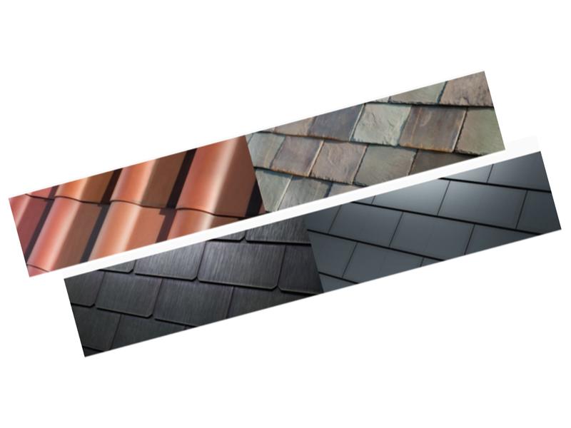 Tesla solar roof styles
