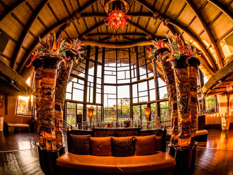 Interior lobby at Disney's Animal Kingdom Villas - Kidani Village!