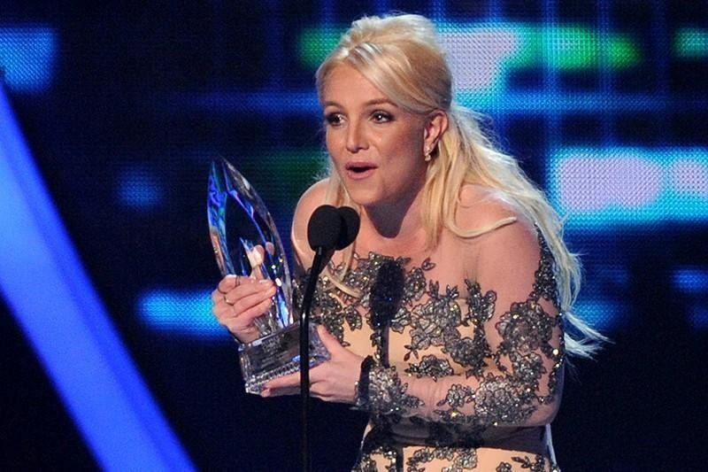 Britney Spears at the People's Choice Awards