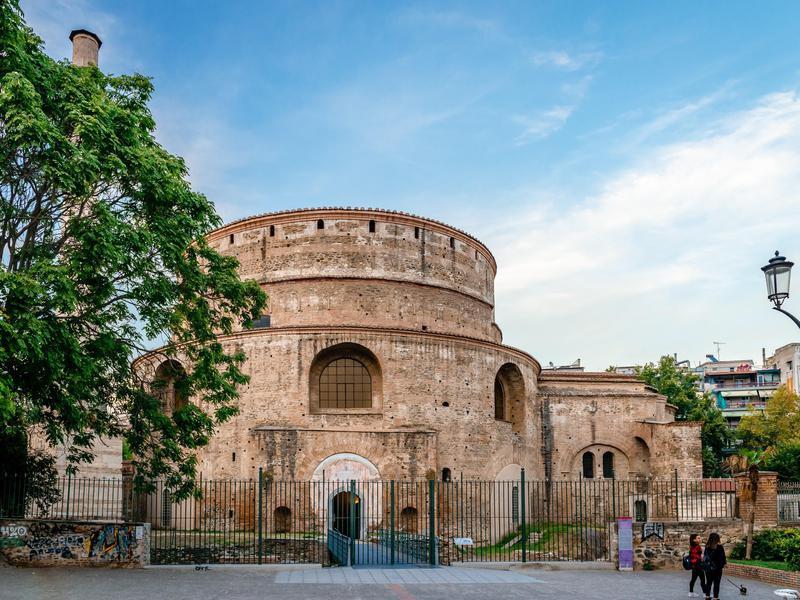 The Rotunda in center of Thessaloniki