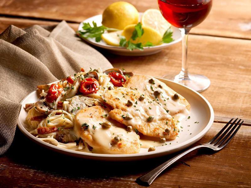 Romano's Macaroni Grill food