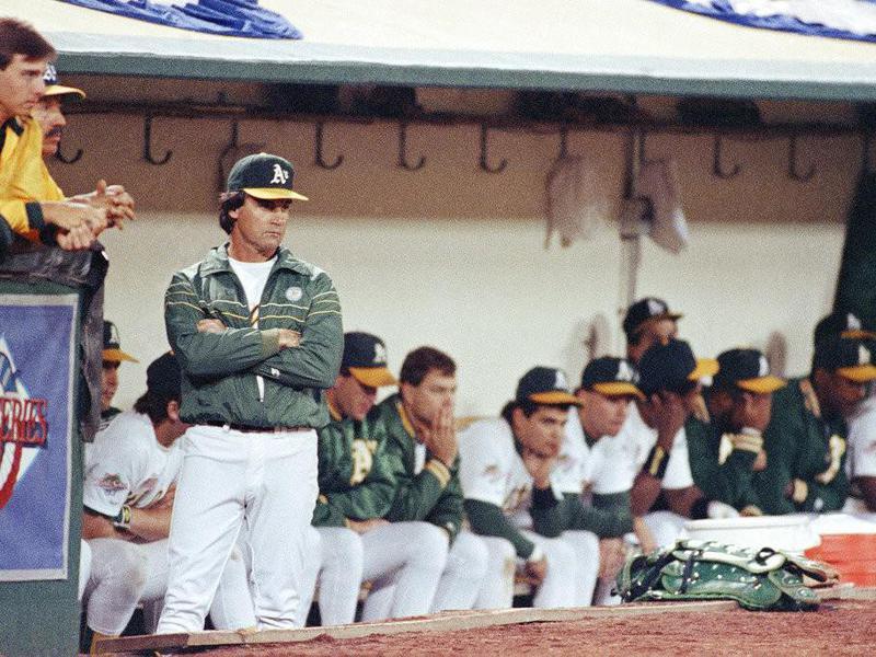 Tony La Russa in the dugout