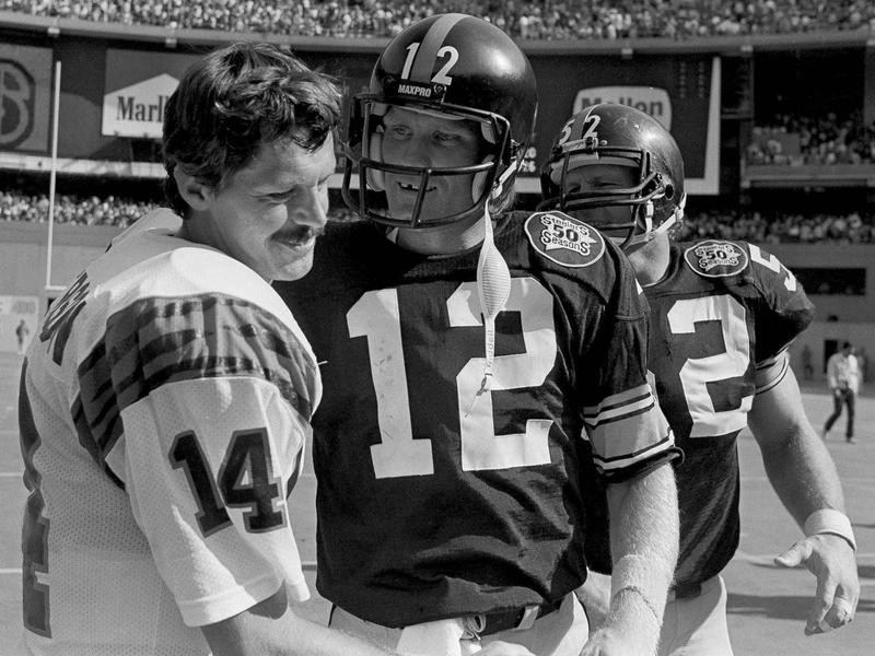 Terry Bradshaw and Ken Anderson