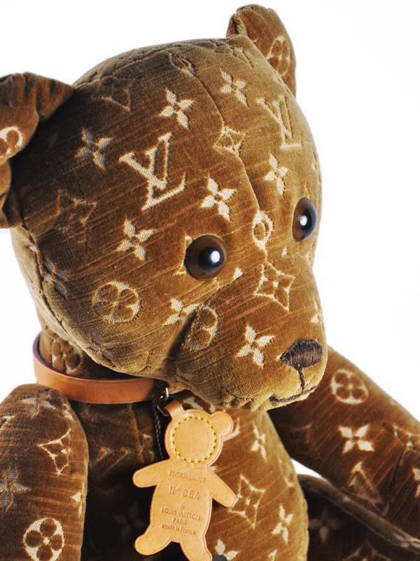 Louis Vuitton Monogrammed Teddy Bear