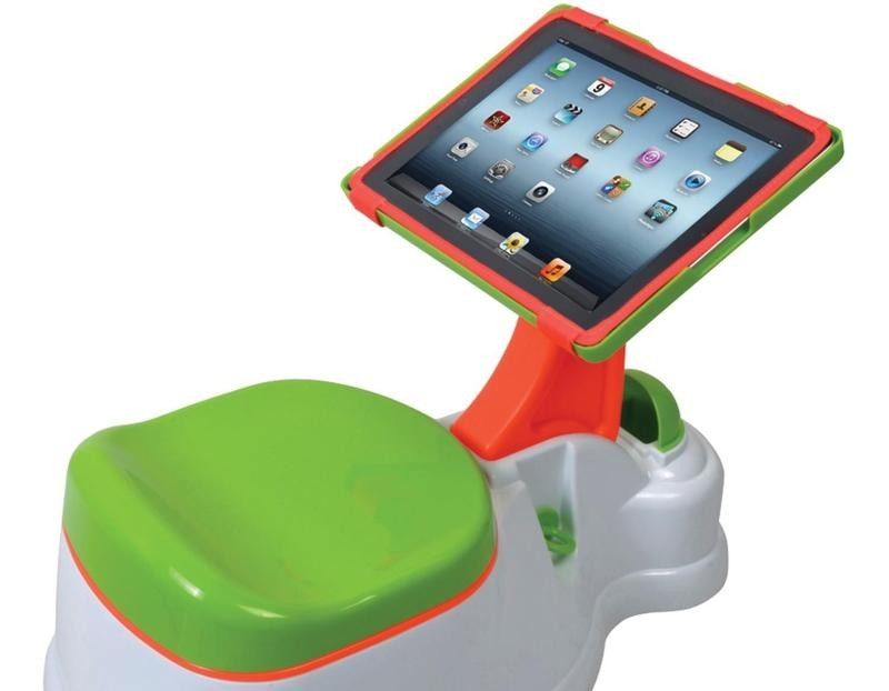 Potty Trainer iPad Holder