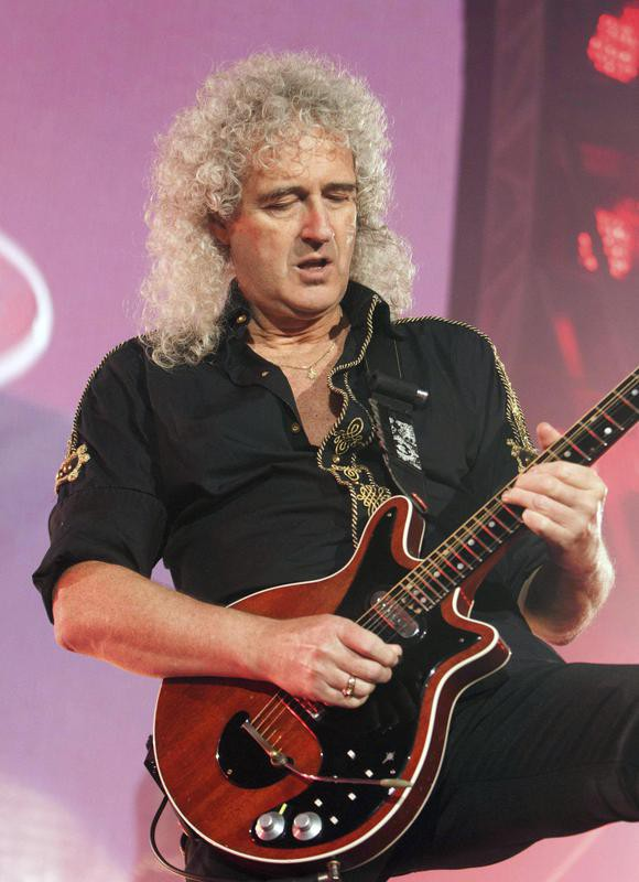 Brian May in 2015