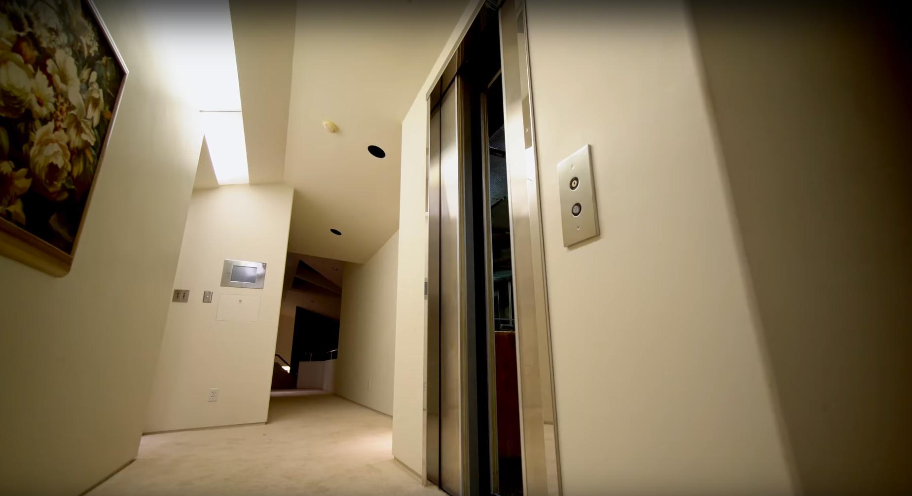 Pharrell Williams' elevator