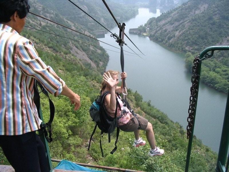 Simatai Zip Line, China