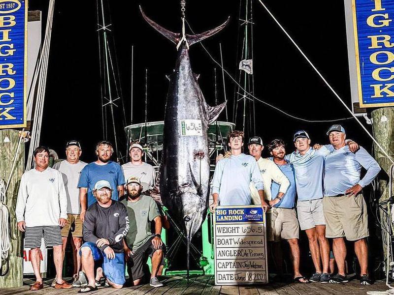 North Carolina fishing competition