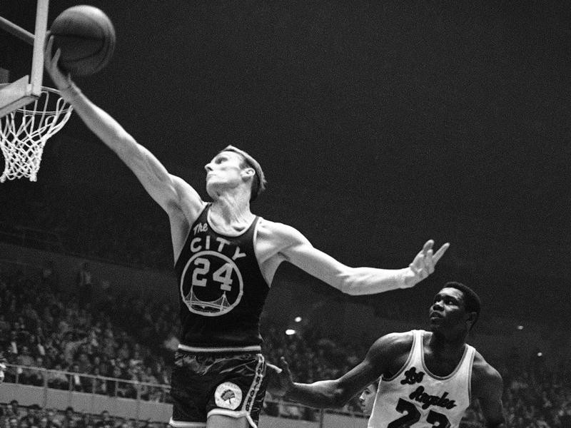Rick Barry in action
