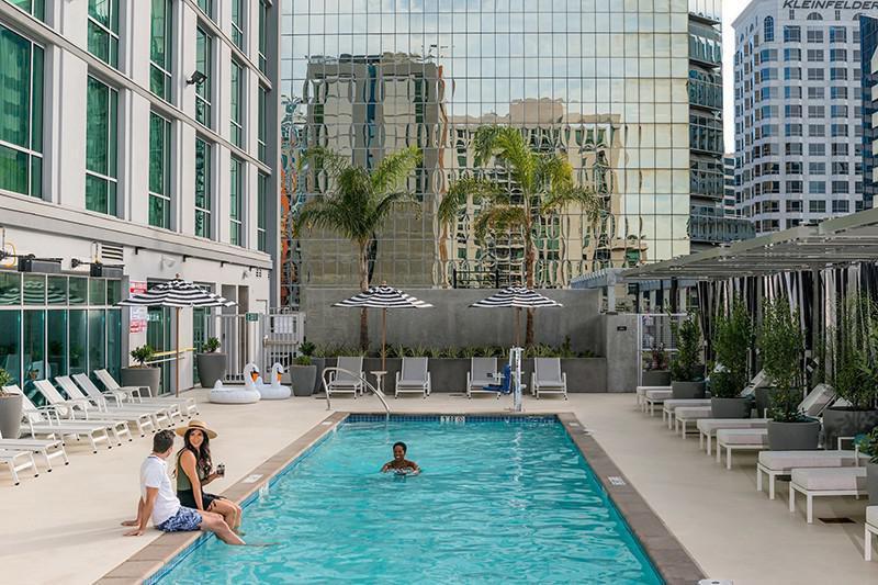 Carte Hotel San Diego Downtown