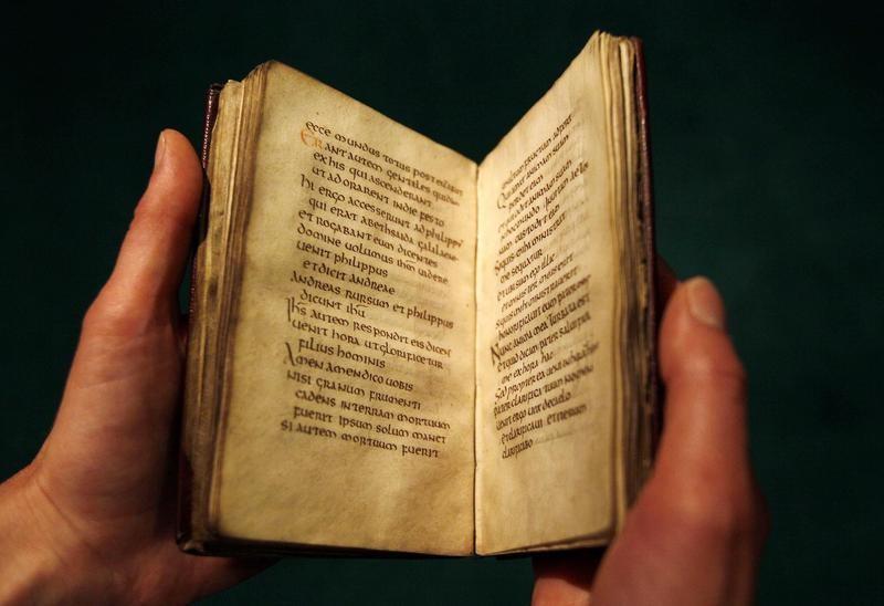 St Cuthbert's Gospel
