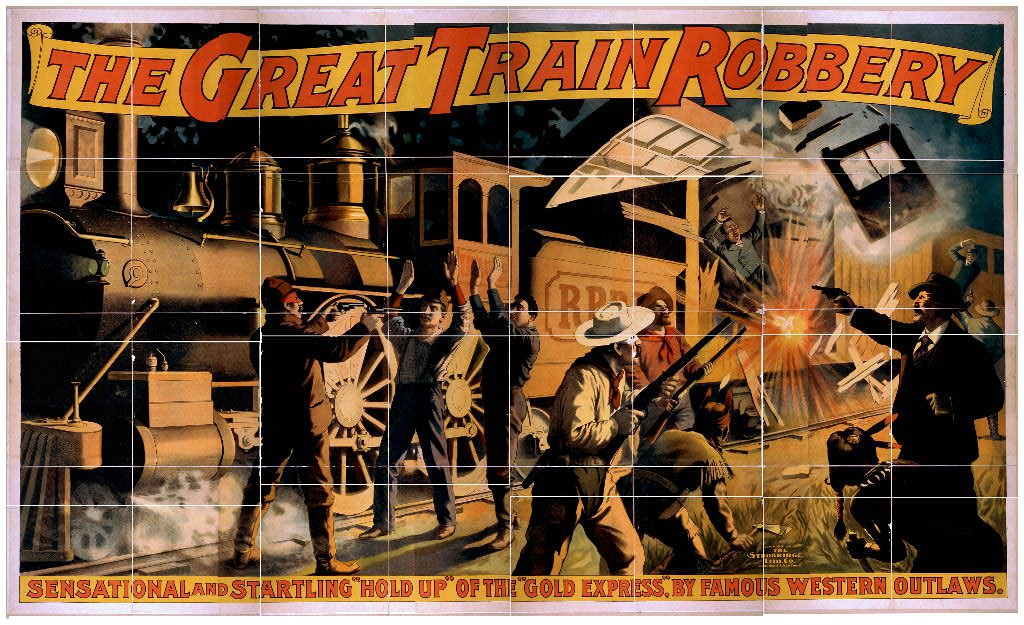 The Great Train Robbery 1903 film