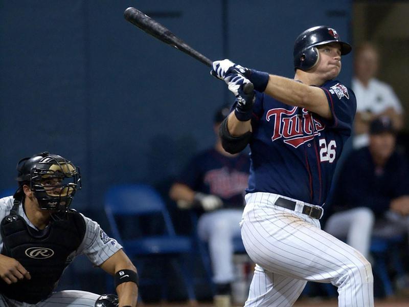 A.J. Pierzynski hits home run