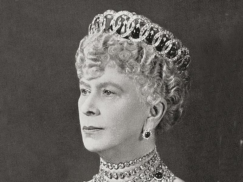 Queen Mary Wearing the Vladimir Tiara