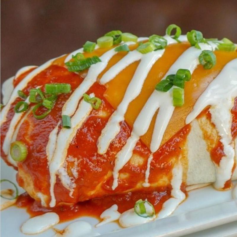 Ultimate Breakfast Burrito at Pub 819