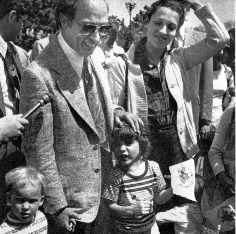 Margaret Trudeau in 1977
