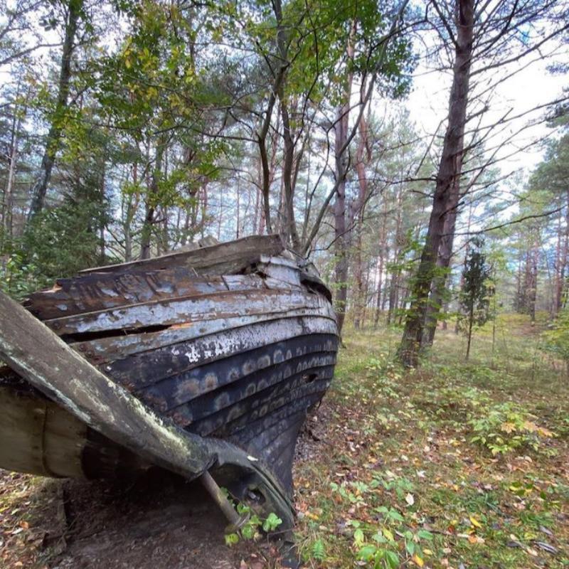 Mazirbe Boat Cemetery