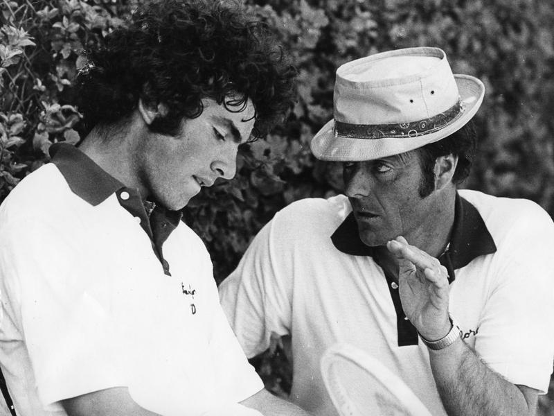 Nick Saviano and Dick Gould