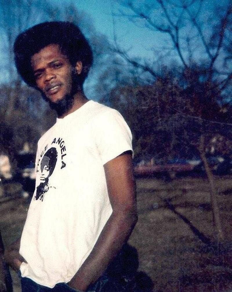 Samuel L. Jackson young