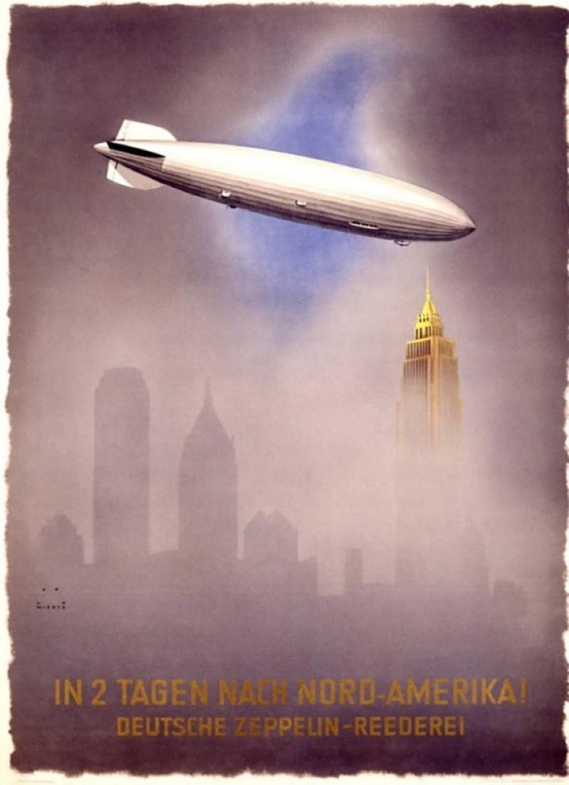 Jupp Wiertz Zeppelin poster